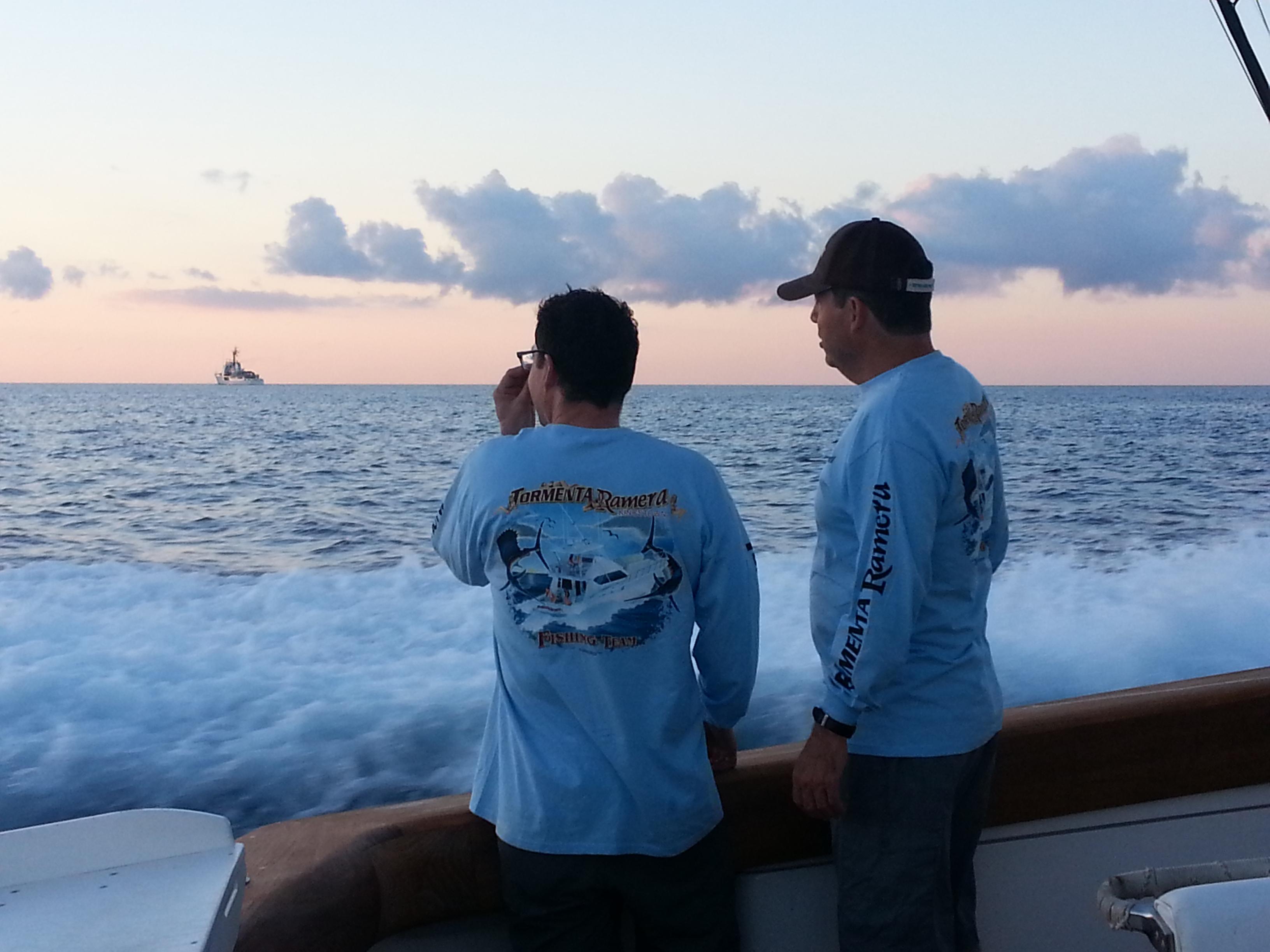 patrick and john w USCG cutter
